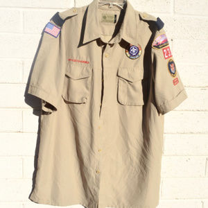 Boy Scouts of America Mens Large Shirt Gear